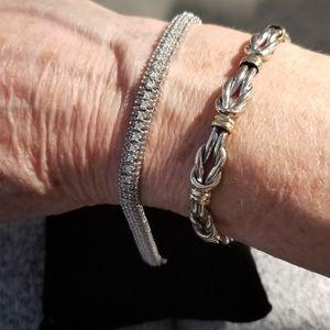 Diamond 14k white gold Tennis Bracelet